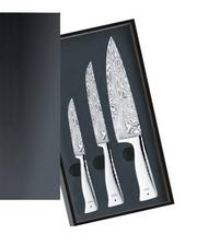 WMF Damasteel Knife Set 3 Piece