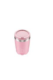 Insulated Coffee Cup Pastel Pink 340ml  - NEW