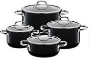 Passion Black Cookware Set 4pce