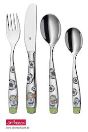 "WMF ""Soccer"" Childrens Cutlery 4pce  - Promotion!!"