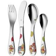 """Winnie the Pooh"" 4pce Childs Cutlery set"