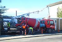 concretepump pumpmix-733