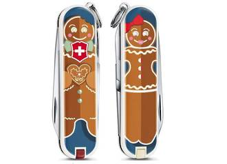 VICTORINOX CLASSIC 1909 LE GINGERBREAD*!  LIMITED EDITION