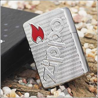 Zippo Bolted Armor High Polish Lighter