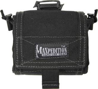 Maxpedition Mega Rollypoly® Folding Dump Pouch Black