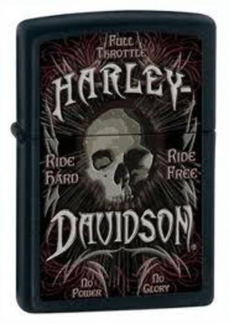 Zippo Harley Davidson Full Throtle Lighter