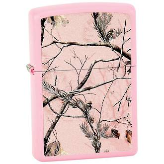 Zippo Realtree Pink Lighter
