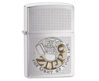 Zippo The Light of Your Life - Brushed Chrome Lighter