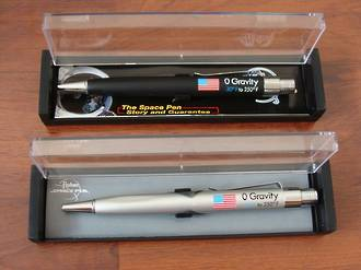 Fisher Zero Gravity and Police Pro Pens