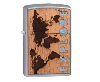 ZIPPO WOODCHUCK USA Explore Lighter