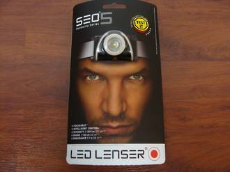 Led Lenser SEO 5 LED headlamp 180 lumens
