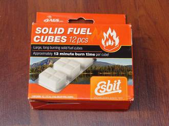 Esbit 14g Solid Fuel Tablets 12 Pack