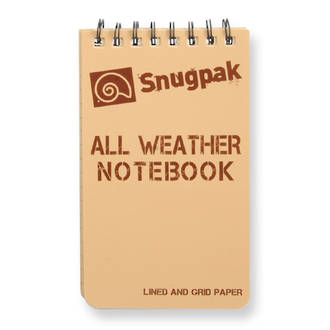 """All Weather Notebook Notebook 4"""" x 6"""" Tan"""