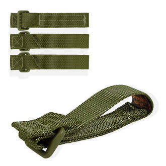 """Maxpedition TacTie Strap 3"""" (Pack of 4) - OD Green"""