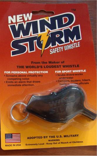 All Weather Wind Storm Whistle