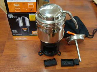 Esbit Stainless Steel Coffee Maker