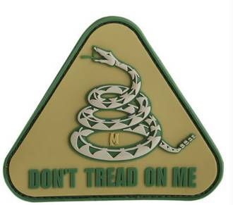 MAXPEDITION DON'T TREAD ON ME MORALE PATCH