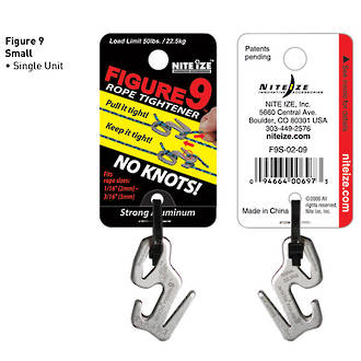 Nite Ize Figure 9 Carabiner Small Stainless Steel