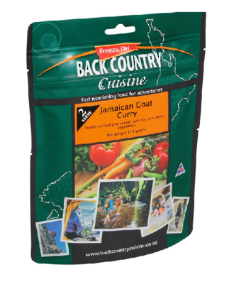 Back Country Cuisine Jamaican Goat Curry 1 Serve