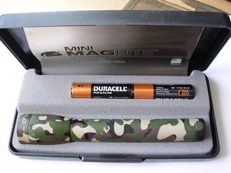 Maglite AA Camo Torch - Gift Box
