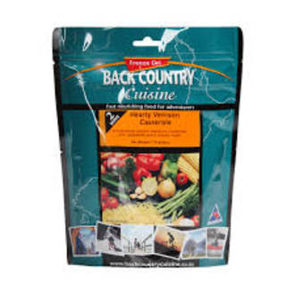 Back Country Cuisine Hearty Venison Casserole 2 Serve