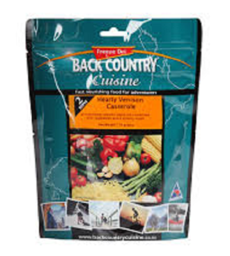 Back Country Cuisine Hearty Venison Casserole 1 Serve