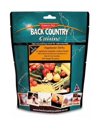 Back Country Cuisine Vegetarian Stirfry 1 Serve