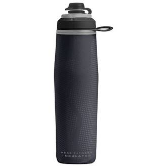 Camelbak Peak Fitness Chill 24 oz Bottle, Insulated Black Silver