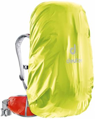 DEUTER RAIN COVER II 30-50 LITRE, NEON YELLOW