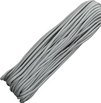 100ft 550 Parachute Cord/Paracord - Grey