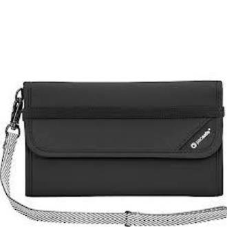 PACSAFE RFIDsafe V250 anti-theft RFID blocking travel wallet