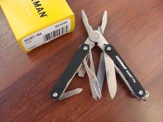 Leatherman Squirt PS4 Multi-Tools - 3 Colours
