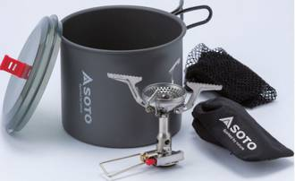 SOTO New River Pot + Amicus with Igniter -OD-1NVENR