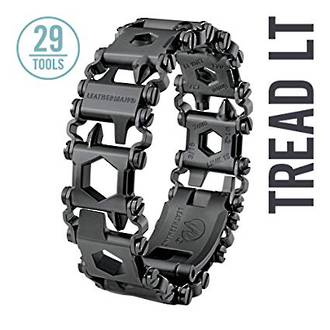 LEATHERMAN TREAD LT STAINLESS WEARABLE MULTI-TOOL BLACK