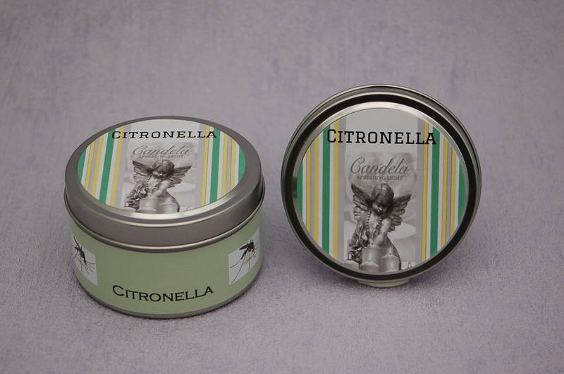 Citronella Candle in a Tin
