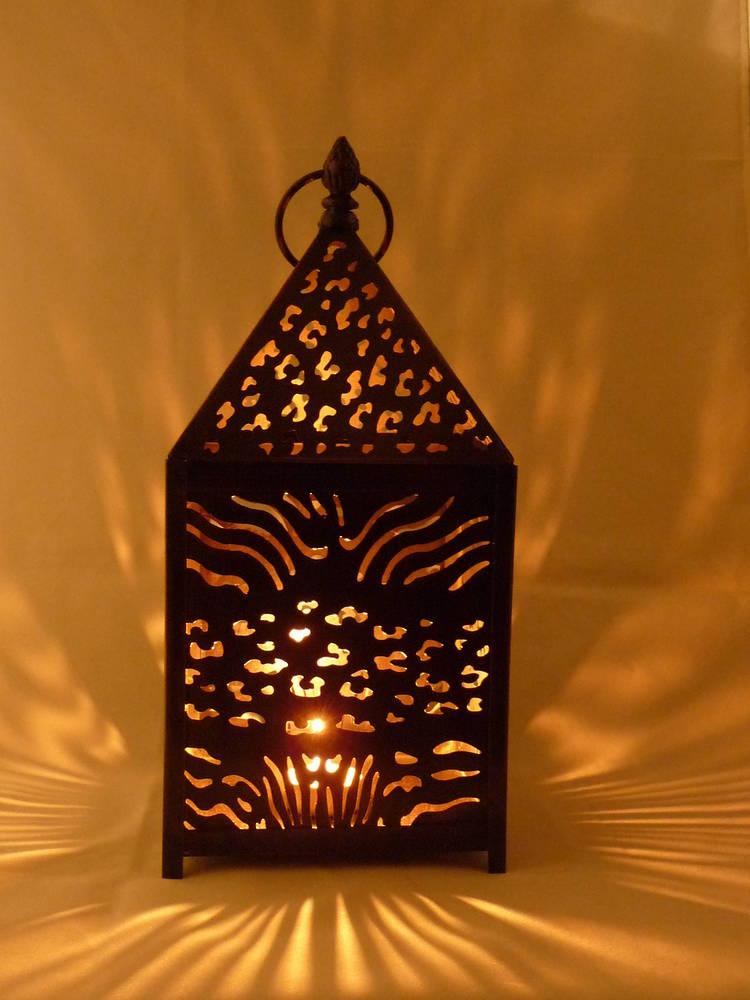 Square Moroccan lantern