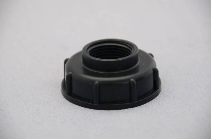 IBC Cap Coarse Thread with step, 25mm BSP