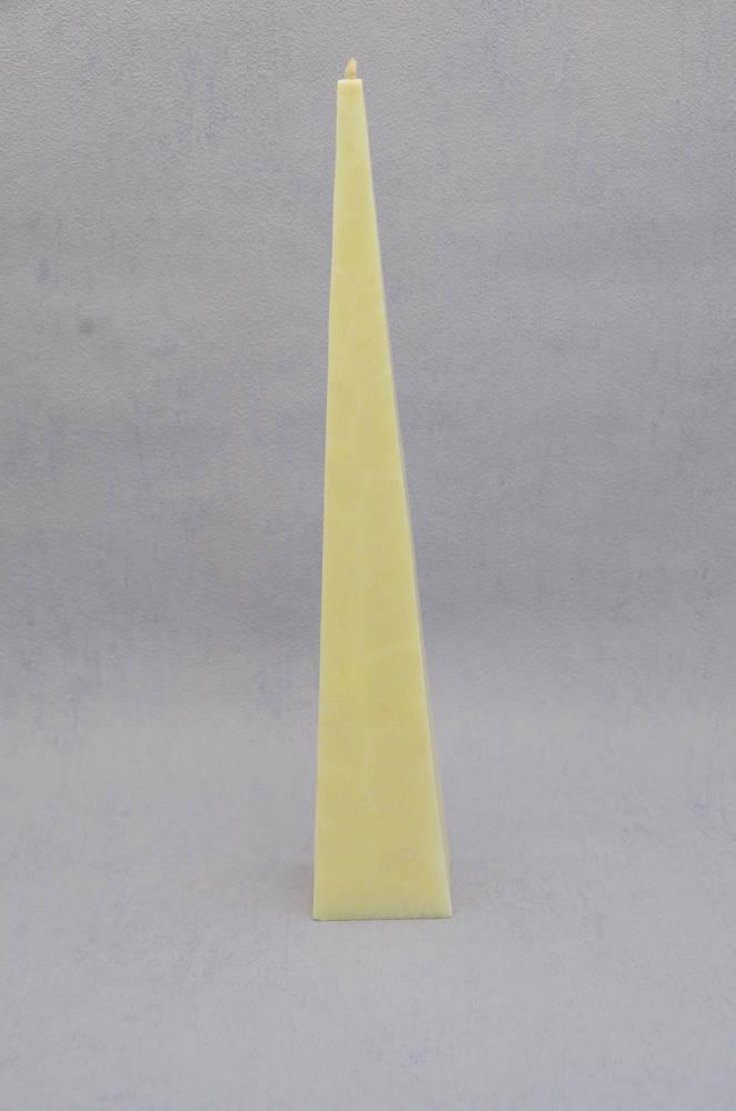 Tall, Cream, Vanilla Fragrance Pyramid