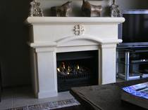 Classical Spanish Colonial design, carved in Oamaru Limestone with carved detail