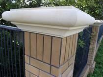 Diocesan boundary pillar cappings