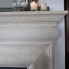 Aged Oamaru Limestone