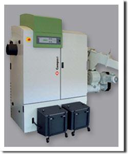 Commercial Wood Pellet Boiler