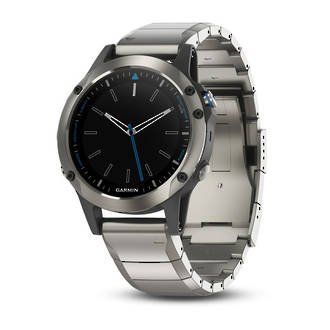 Quatix 5 Sapphire GPS Watch with Metal Band