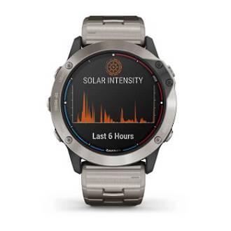 Quatix 6x Solar Titanium Marine GPS Watch