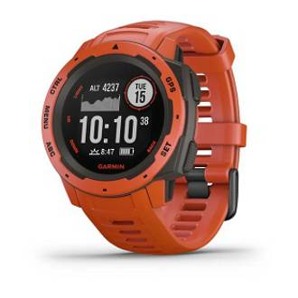Instinct GPS Watch - Red