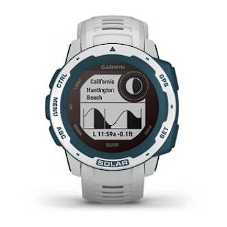 Instinct Solar Smartwatch - Surf Edition - Cloudbreak
