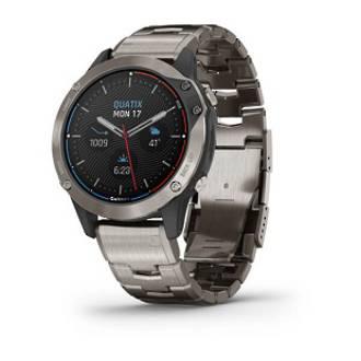 Quatix 6 Titanium Marine GPS Watch