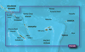 Bluechart G2 Vision Fiji to New Cal