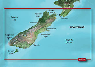 Bluechart G3 NZ South Island