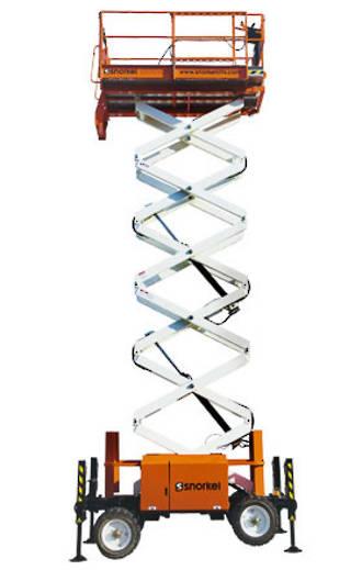 14m Rough Terrain Scissor Lift